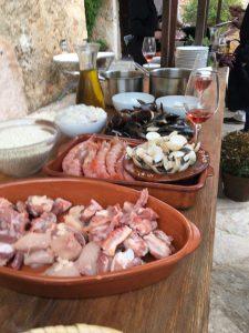 Zutaten für unseren Paella Kochkurs