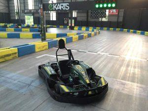 Indoor Karting Mallorca Frontansicht Kart
