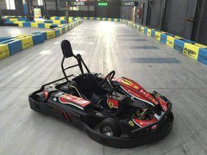 Indoor Karting Mallorca Seitenansicht Kart