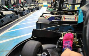 Indoor Karting Mallorca Ansicht Kart