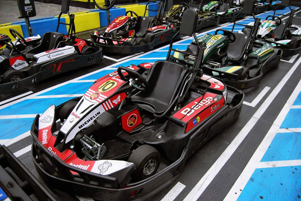 Indoor Karting Mallorca Parkposition
