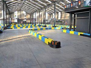 Indoor Karting Mallorca Piste Mitte
