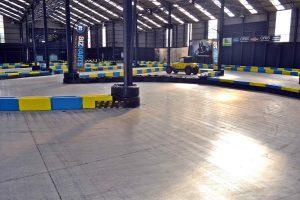 Indoor Karting Mallorca Piste Linkskurve
